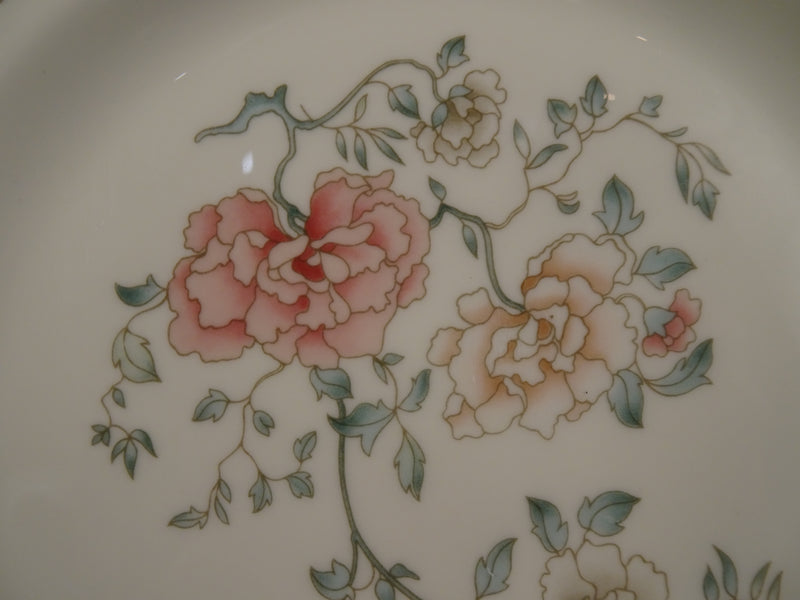 Royal Doulton Jasmine 8in Rimmed Salad Plate