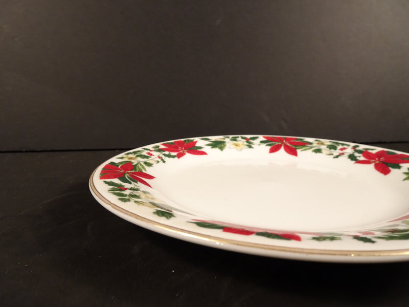 Gibson Housewares  7in Rimmed Salad Plate