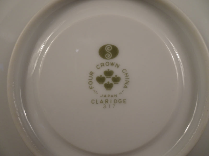 Four Crown Claridge 6in Saucer