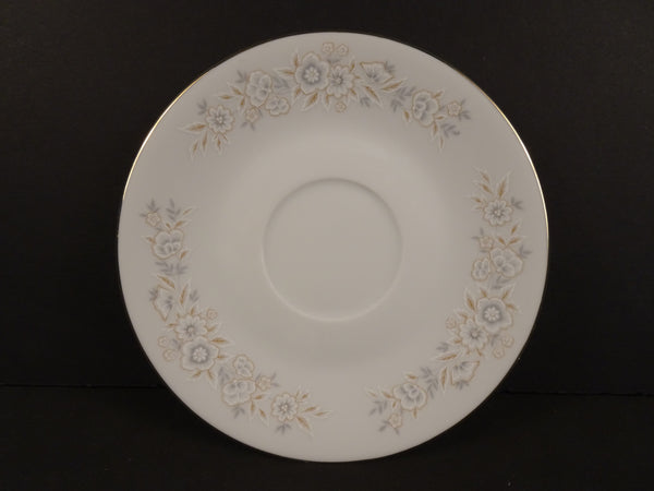 Fine China Petite Floral 6in Coupe Saucer