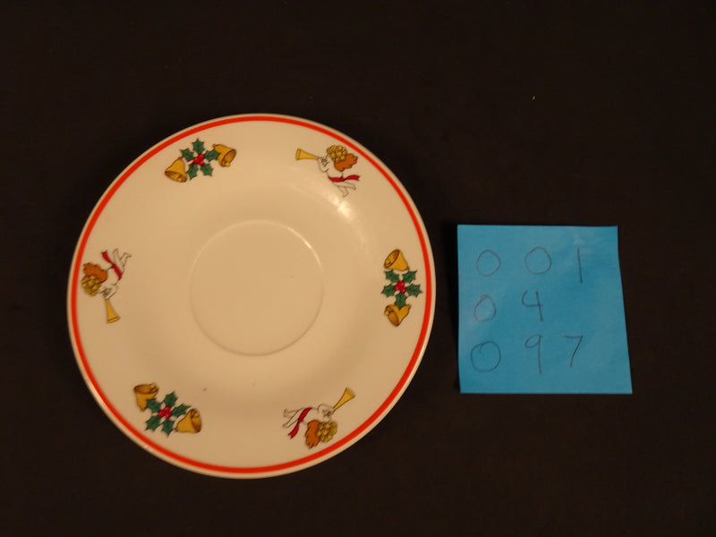 Jamestown China The Joy of Christmas 6.20in Coupe Saucer