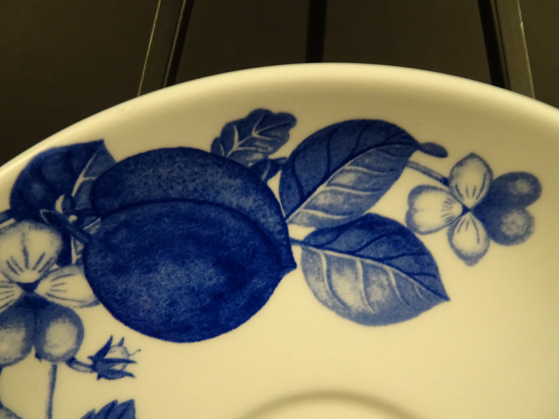 PORTMEIRION Harvest Blue 6.25in Coupe Saucer