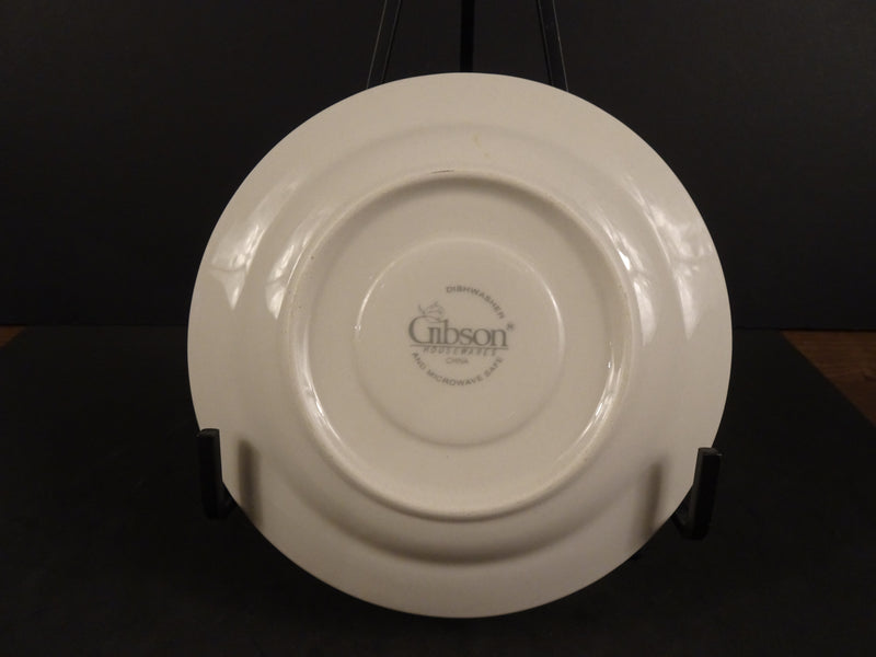 Gibson Housewares  6.5in Coupe Saucer