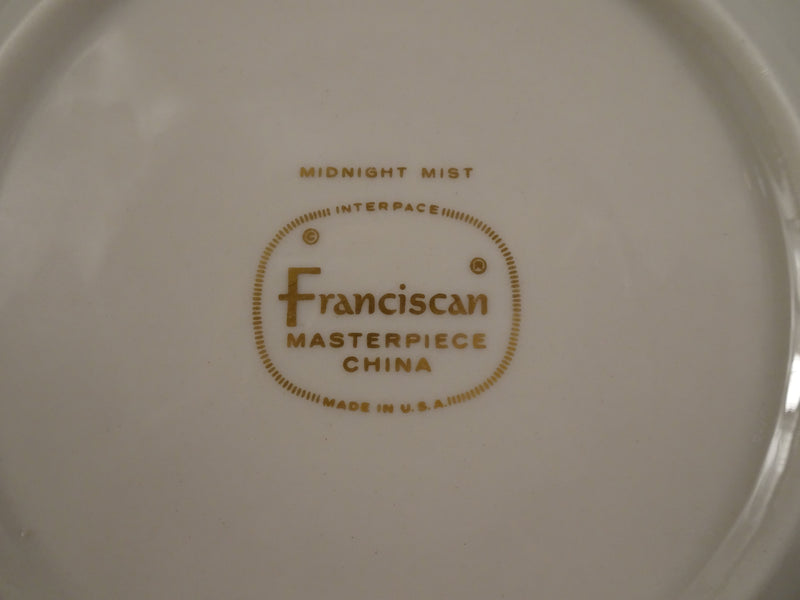 Franciscan Midnight Mist 6in Saucer