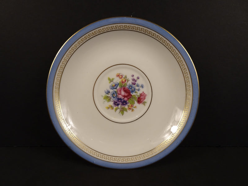 Lamberton Ivory China Martha Washington 5.75in Coupe Saucer