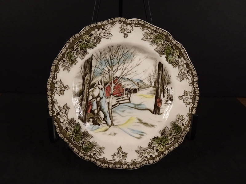 The Friendly Village Sugar Maples 6.25in Bread and Butter Plate