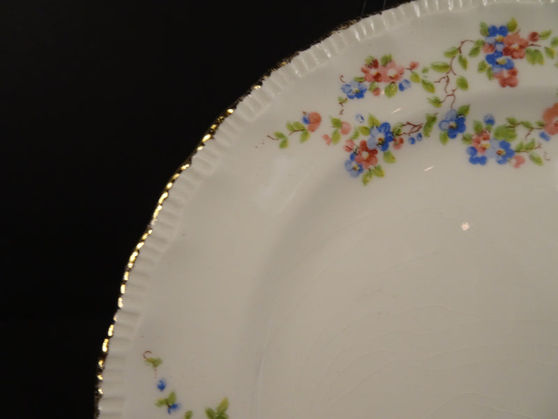 Popegosser China Blue Belle 6.25in Bread and Butter Plate