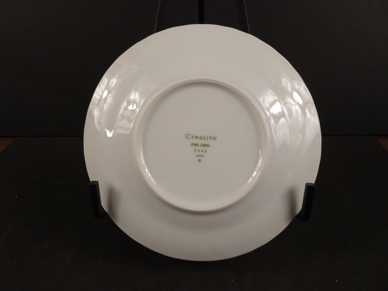 Creative Fine China  6.25in Rimmed Bread and Butter Plate