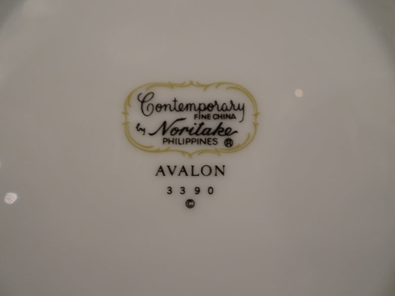 Contemporary Noritake Avalon 6.25in Rimmed Bread and Butter Plate
