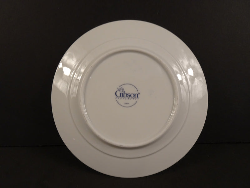 Gibson  6.10in Rimmed Bread and Butter Plate