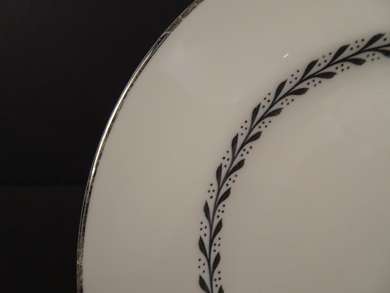 Pickard Silver Wreath 6.5in Rimmed Bread and Butter Plate