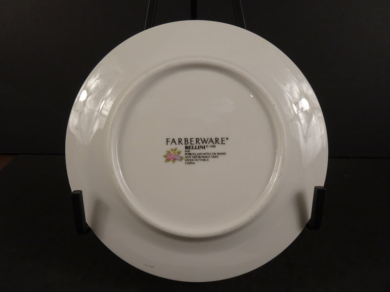Farberware Bellini 6.4in Rimmed Bread and Butter Plate