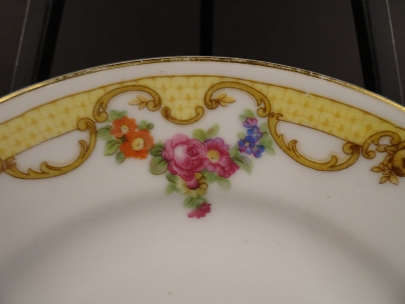 Noritake Malverne 6.25in Rimmed Bread and Butter Plate
