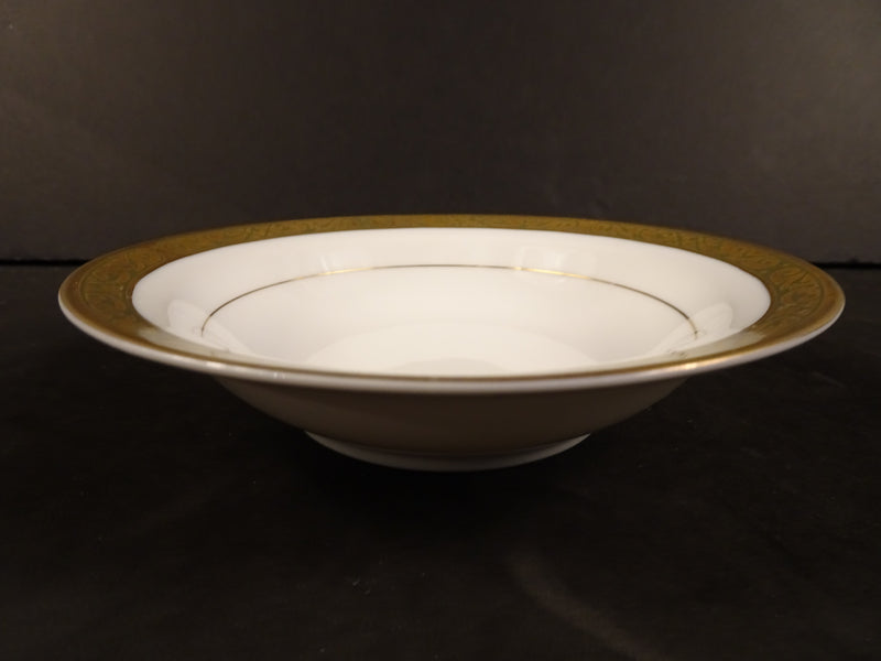 Sango China Carlisle 5.5in Rimmed Fruit Bowl