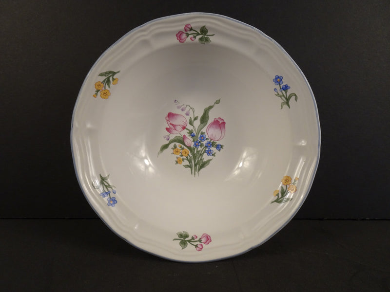 Chinese Characters - Butterfly  7in Rimmed Cereal Bowl
