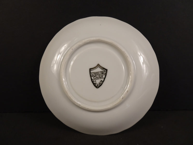 Sterling China  4.5in Demitasse Saucer