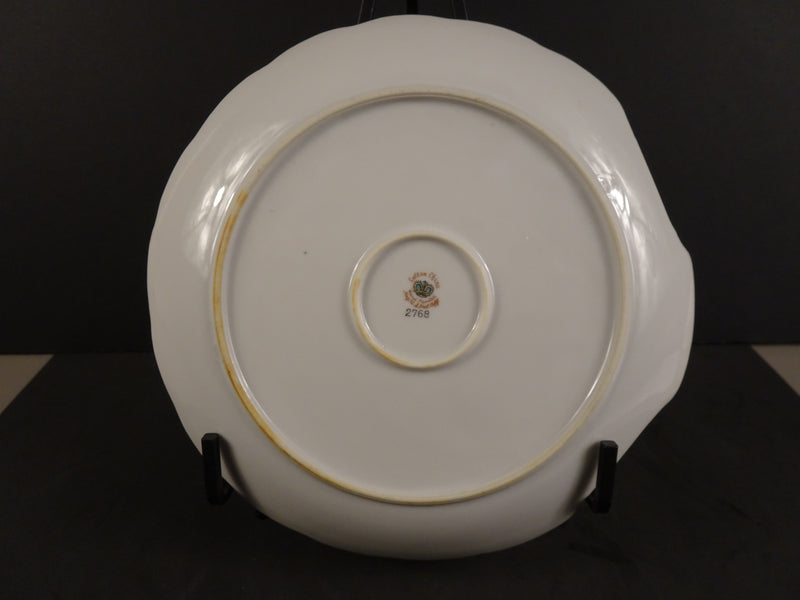 Lefton China  7.90in Coupe Snack Plate