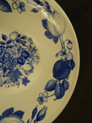 PORTMEIRION Harvest Blue 6.5in Rimmed Soup Bowl