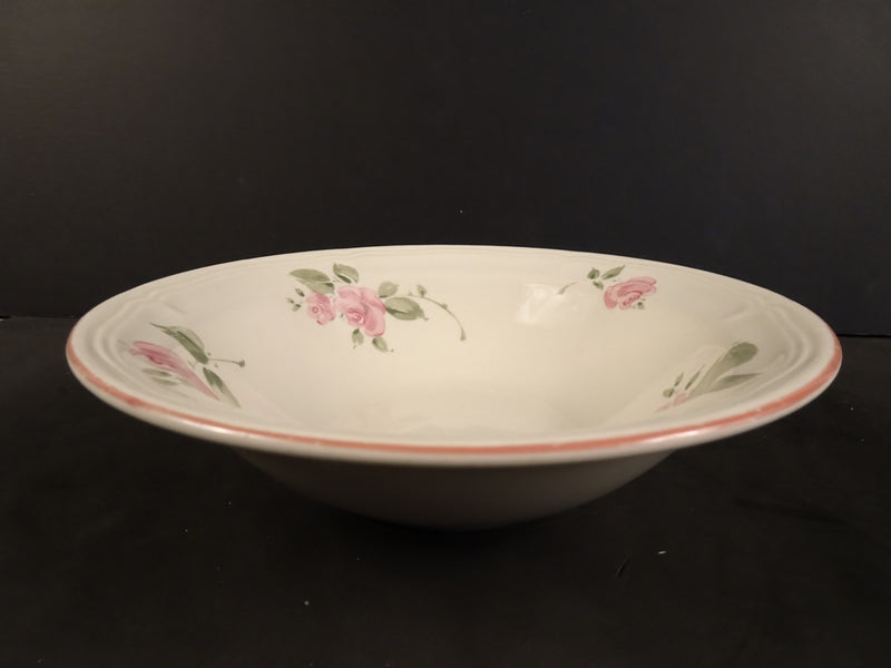 Gibson Housewares  7.25in Rimmed Soup Bowl