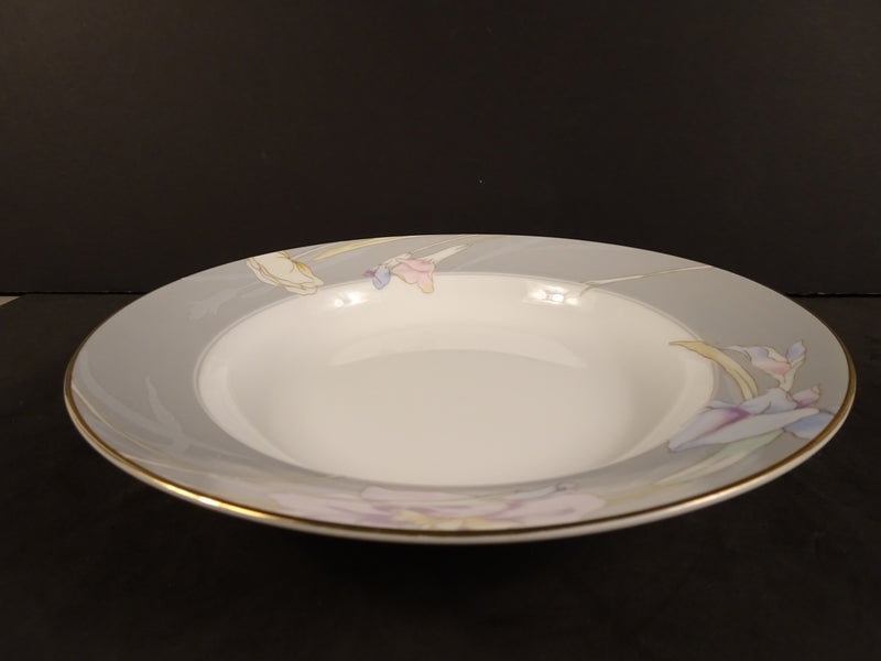Mikasa Charisma Gray 8.3in Rimmed Soup Bowl