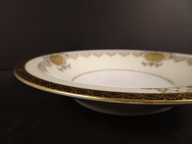 Jyoto China  7.8in Rimmed Soup Bowl