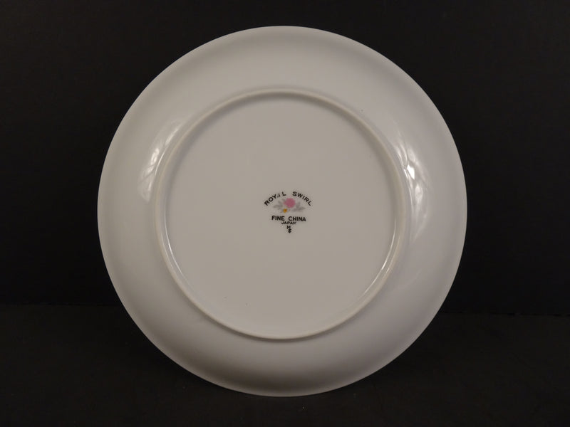 Fine China Royal Swirl 7.75in Coupe Soup Bowl