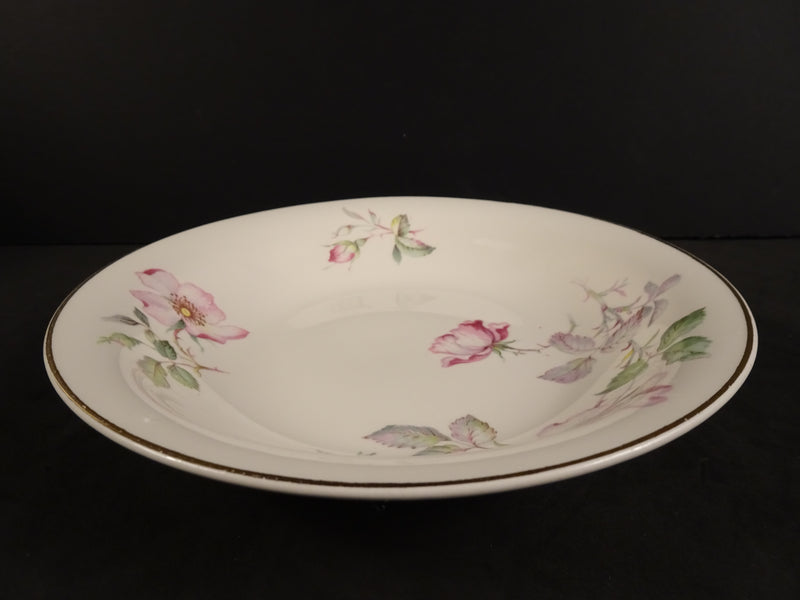 Edwin M Knowles Semi Vitreous 7.75in Coupe Soup Bowl