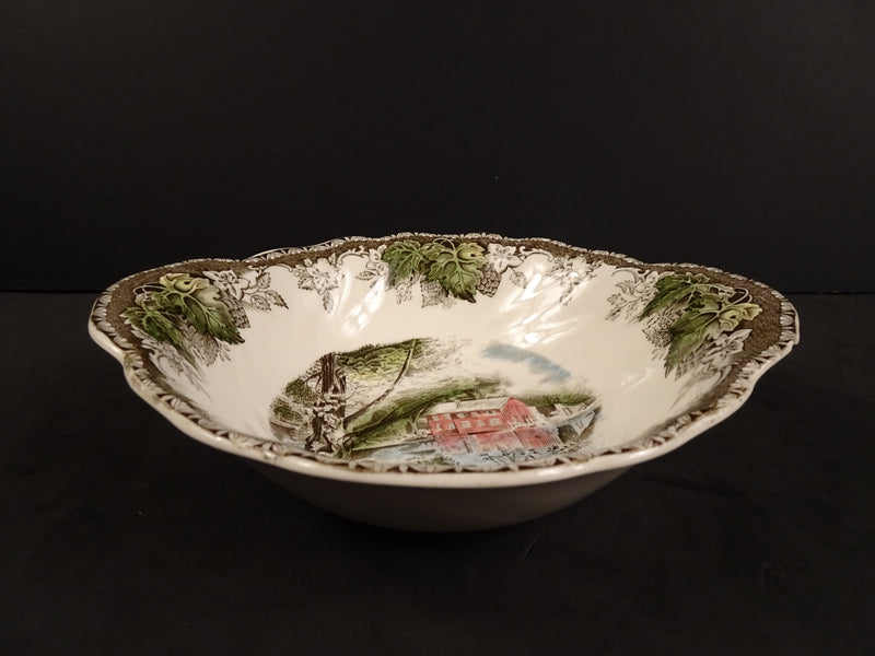 Johnson Bros The Friendly Village 7.10in Lugged Soup Bowl