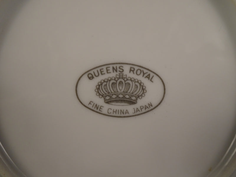 Queens Royal Fine China  6.25in Coupe Cereal Bowl