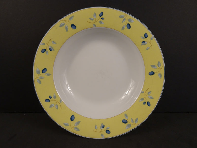 Royal Doulton Blueberry 8.40in Rimmed Soup Bowl