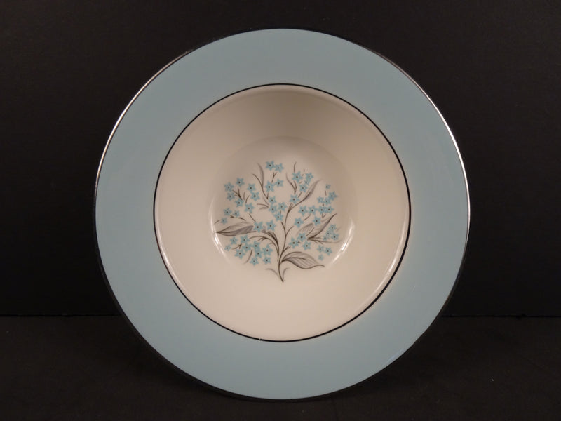 Sevron Blue Lace 6in Rimmed Fruit Bowl