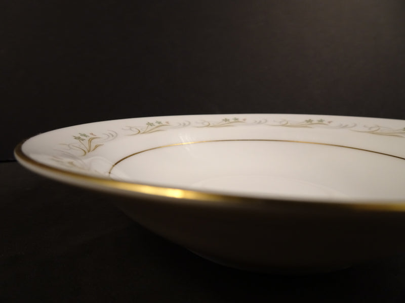 Sango China Belaire 5.5in Rimmed Fruit Bowl
