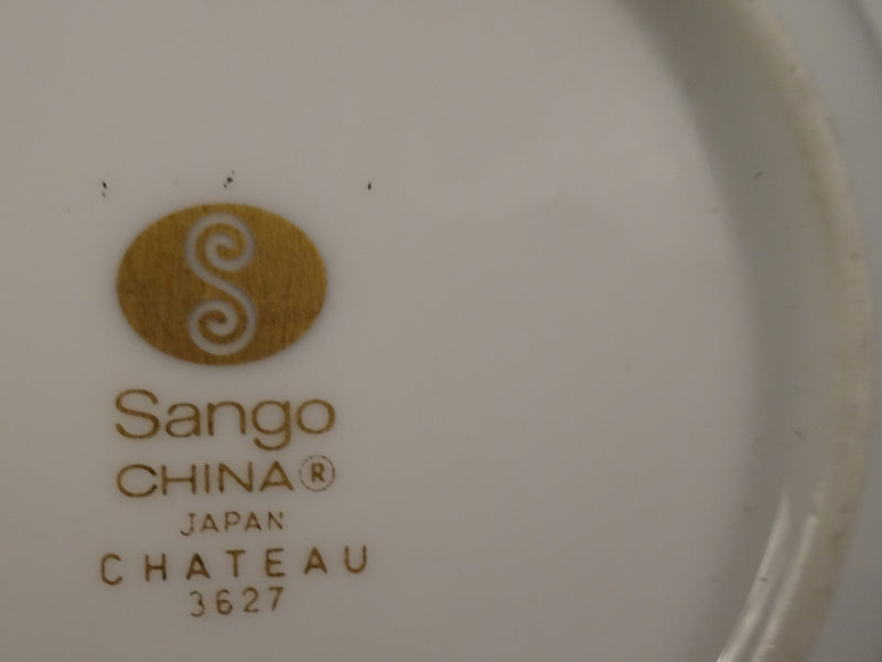 Sango China Chateau 5.6in Rimmed Fruit Bowl