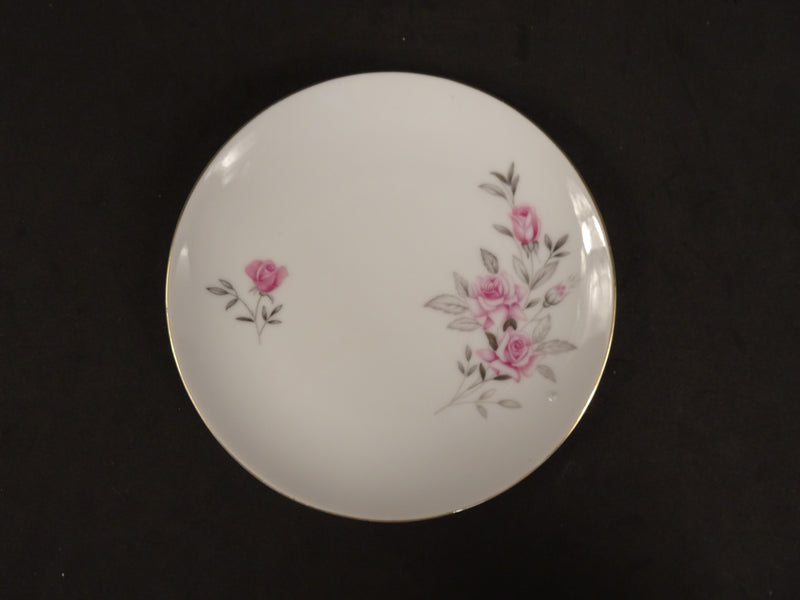 Nasco Wild Rose 6.40in Coupe Bread and Butter Plate