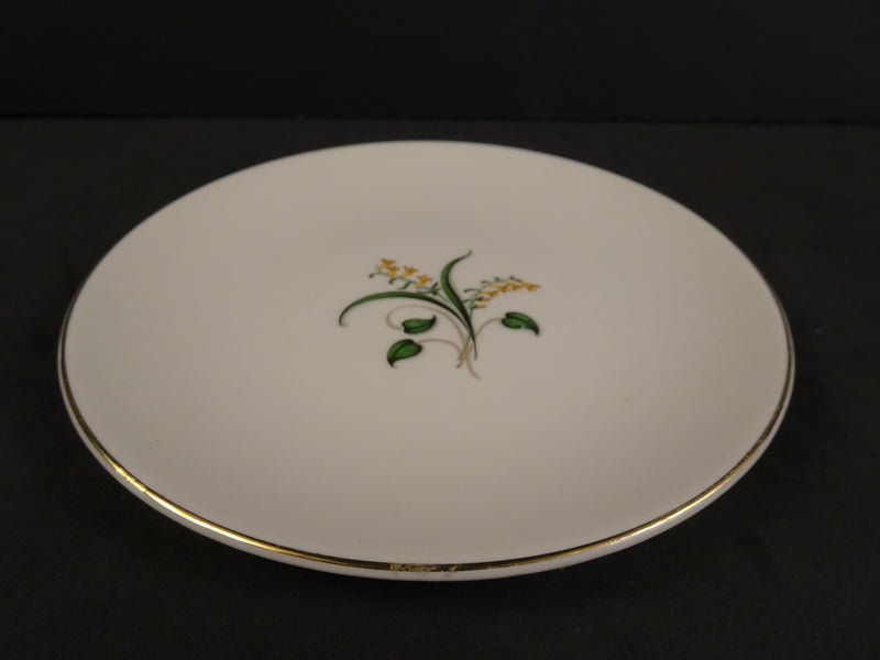 Knowles Forsythia 6.25in Coupe Bread and Butter Plate