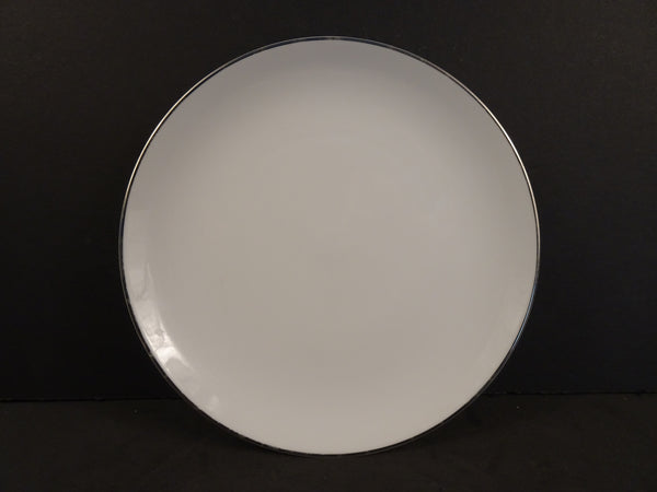 Style House Platinum Ring 6.2in Coupe Bread and Butter Plate