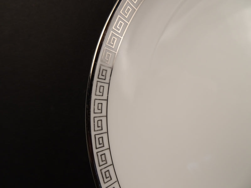 Noritake Silver Key 6.5in Coupe Bread and Butter Plate
