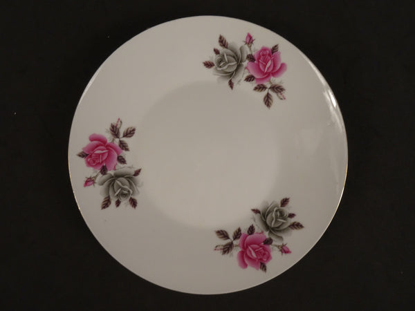 """Chinese Characters""  7in Coupe Salad Plate"