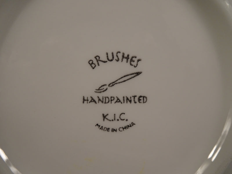 K.I.C Brushes 7.60in Coupe Salad Plate