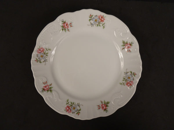 Princess House Collection Rose Garden 8in Coupe Salad Plate