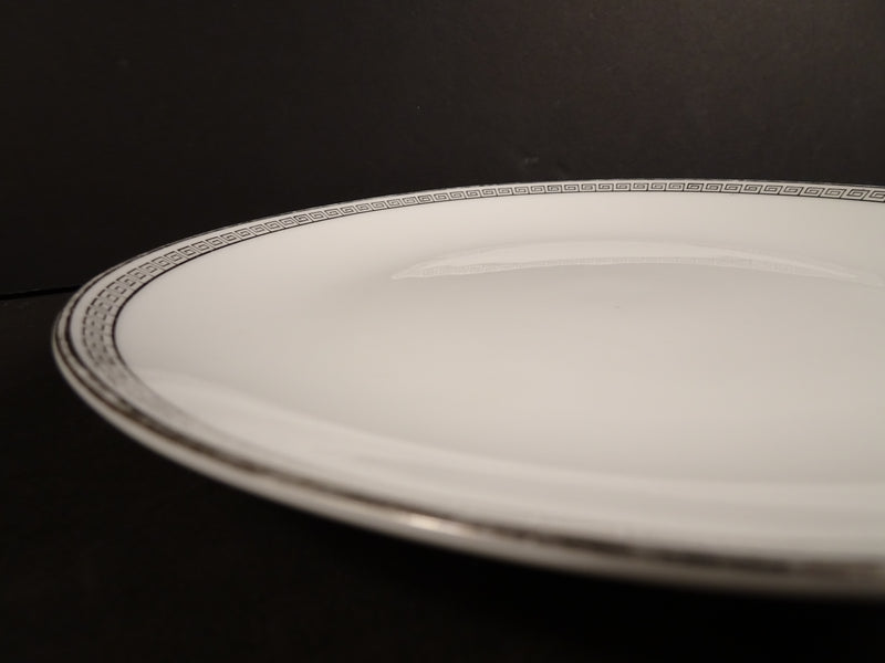 Noritake Silver Key 8.25in Coupe Salad Plate