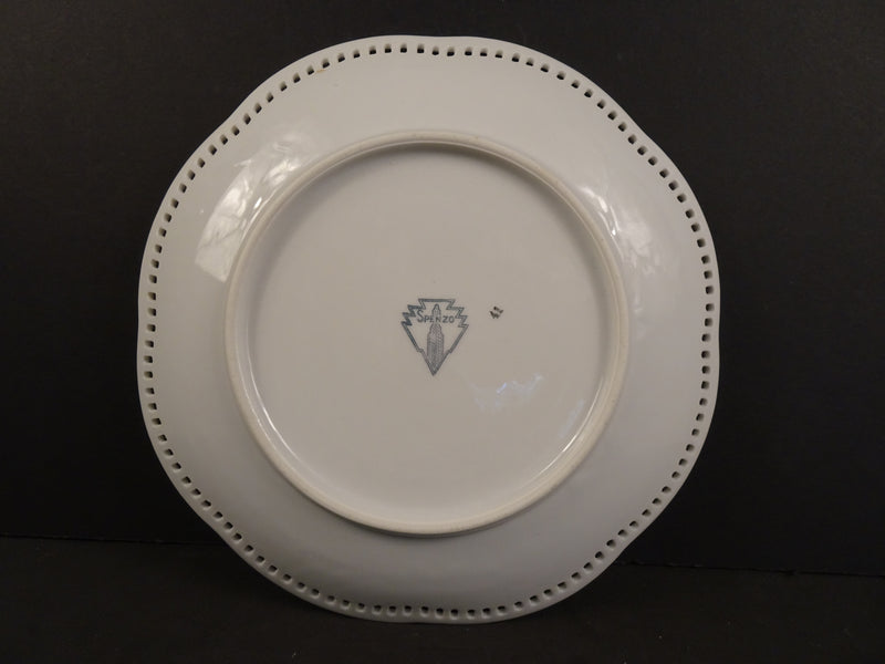 Spenzo Pear 7.75in Coupe Salad Plate
