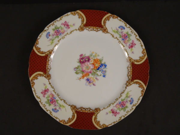 Goldcastle  8.75in Rimmed Luncheon Plate