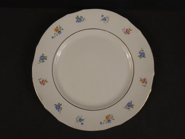 Arabia 9.25in Rimmed Luncheon Plate