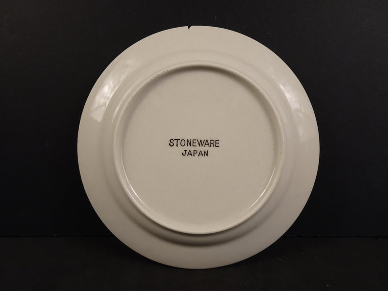 Stoneware 6in Rimmed Saucer