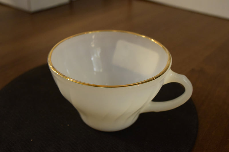 Non-Footed Tea Cup By Anchor Hocking