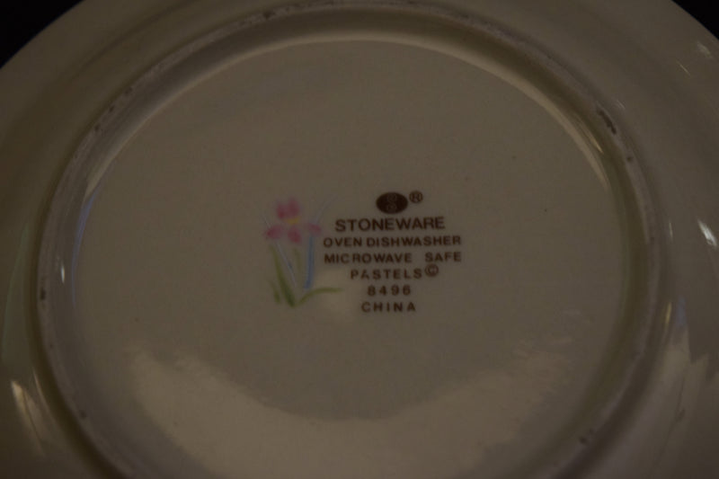 Stoneware Pastels 6.25in Saucer