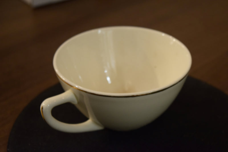 Non-Footed Tea Cup By Not Known