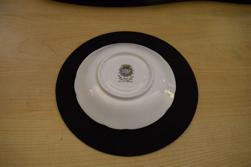 Regal Bone China Signs of the Zodiac 5.5in Coupe Saucer