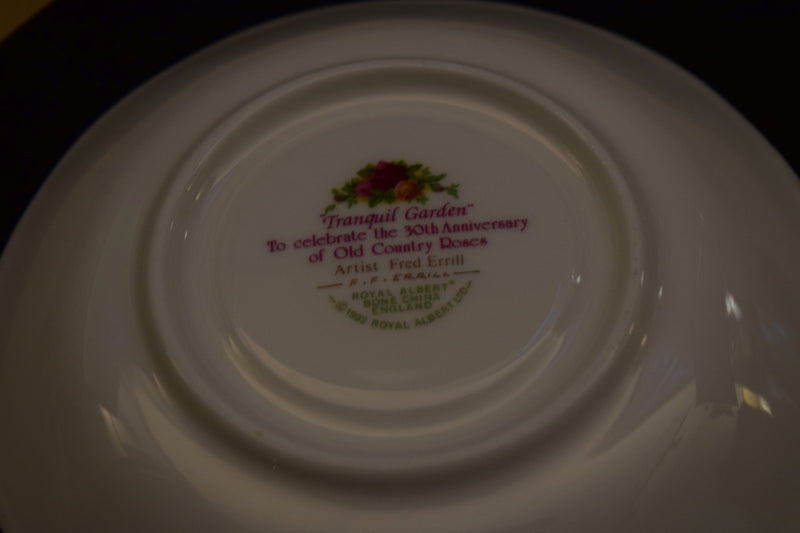 Royal Albert Tranquil Garden 5.25in Coupe Saucer